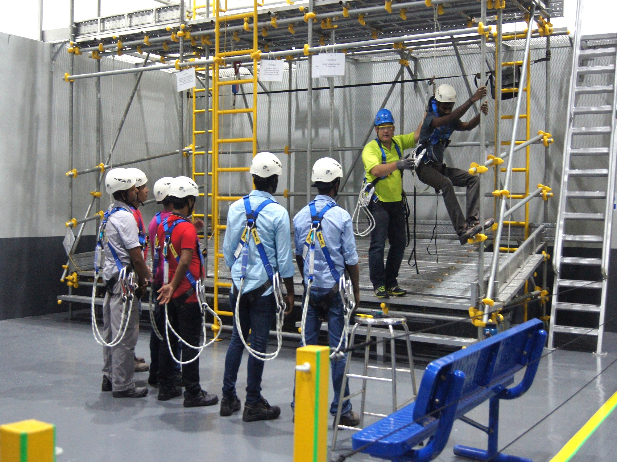 Image result for working at heights training